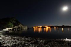 Es Grau pod blask księżyca zdjęcie royalty free