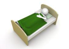 Es hora de dormir Foto de archivo libre de regalías