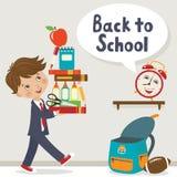 Es hora de ir a la escuela Fotografía de archivo libre de regalías