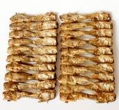 Geräucherter Schlammkarpfen für das Kochen Stockbilder