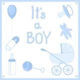 Es ist ein Junge. Stockbild