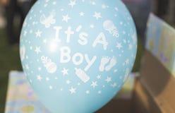Es ist ein Jungen-Ballon Lizenzfreie Stockbilder