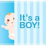 Es ist ein Jungenschätzchenbarde Lizenzfreies Stockbild