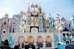 Es ist eine kleine Welt Hong Kong Disney Stockbild