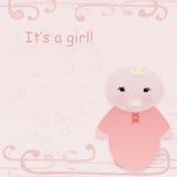 Es ist eine Mädchenkarte Stockfotos