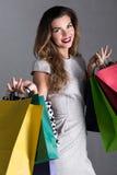 Es ist Einkaufszeit! lizenzfreie stockfotografie