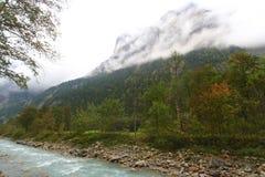 Es ist Fall in die Alpen Lizenzfreies Stockfoto