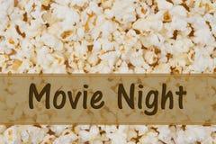 Es ist Film-Nacht lizenzfreie stockfotos