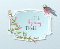 Es ist Frühlings-Zeit Stockbild