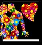 Es ist Liebe - eine abstrakte Abbildung Lizenzfreie Stockbilder