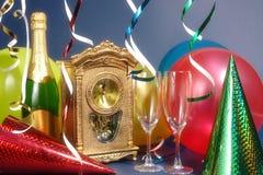 Es ist Tag des fast neuen Jahres Stockfoto
