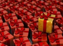 Es ist viele Geschenke lizenzfreies stockbild