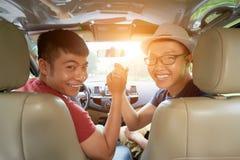 Es ist Zeit für Autoreise lizenzfreies stockfoto
