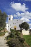 es mercadal church in menorca Stock Images