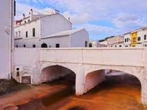 Es Mercadal on Minorca Royalty Free Stock Photos