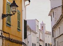 Es Mercadal on Minorca Royalty Free Stock Photo