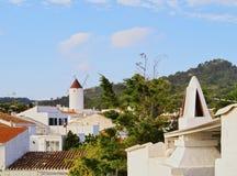 Es Mercadal on Minorca Stock Image