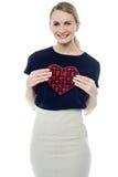 ¡Es mi regalo de la tarjeta del día de San Valentín! Fotos de archivo