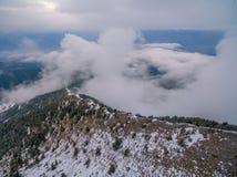 Es realmente agradable salir en la montaña Imagenes de archivo