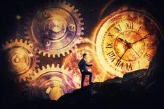 Es ` s ein Frage der Zeit lizenzfreie stockbilder