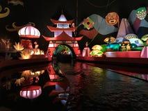Es ` s eine kleine Weltfahrt, Walt Disney World, Florida stockbilder