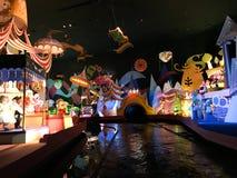 Es ` s eine kleine Weltfahrt, Walt Disney World, Florida stockfotografie
