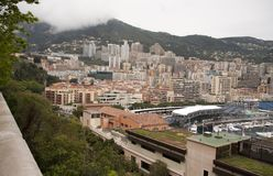 Es ` s Frühling in Monaco Lizenzfreies Stockbild