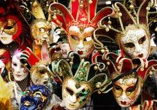 Es ` s Karnevalszeit in Venedig stockfotografie