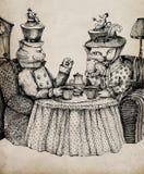 Es ` s Teatime! Lizenzfreie Stockfotografie