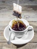Es ` s Teezeit Lizenzfreies Stockfoto
