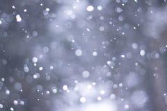 Es snowing-1 Foto de archivo libre de regalías