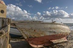 Barco abandonado Imagen de archivo