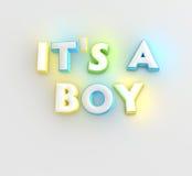 Es un muchacho Imagen de archivo libre de regalías