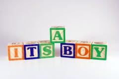 Es un muchacho Foto de archivo libre de regalías