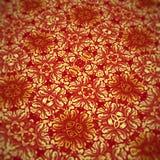 Es un papel pintado floral, él es adornado por las flores coloreadas Imagen de archivo libre de regalías