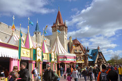 Es un pequeño mundo en el mundo Orlando de Disney Imágenes de archivo libres de regalías