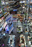 ES und Elektronik-Einkaufszentrum in Bangkok Stockbilder