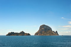 Es Vedra Cala d'Hort Ibiza Spain Royalty Free Stock Photos