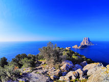 Es Vedra on Ibiza Royalty Free Stock Images