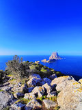 Es Vedra on Ibiza Royalty Free Stock Photography