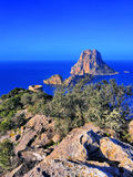 Es Vedra on Ibiza Royalty Free Stock Photo
