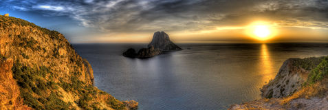 Es Vedra - Ibiza royalty free stock photos