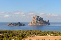 Es Vedra Ibiza Royalty Free Stock Photos