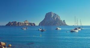 Es Vedra Isla de Ibiza, Balearic Island españa fotografía de archivo libre de regalías