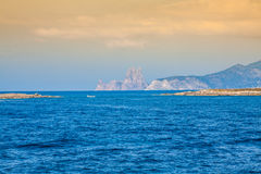 Es Vedra is a island in south of Ibiza, Balearic Islands, Spain Stock Image