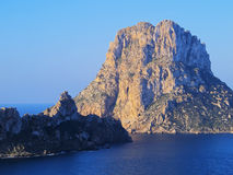 Es Vedra sur Ibiza Photo stock