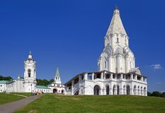 Kirche der Besteigung in Kolomenskoye Lizenzfreie Stockfotografie