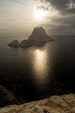 es wyspa Vedra Obrazy Royalty Free