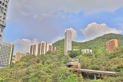 esa肯尼迪镇香港城市视图  免版税库存图片