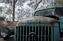 Esa camioneta pickup vieja de la manera en aquel entonces imagen de archivo libre de regalías